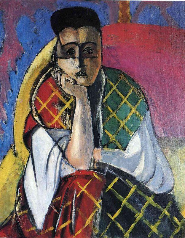 Odalisque with Gray Pants - Henri Matisse