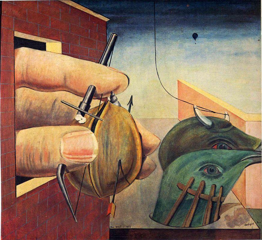 Oedipus Rex - Max Ernst