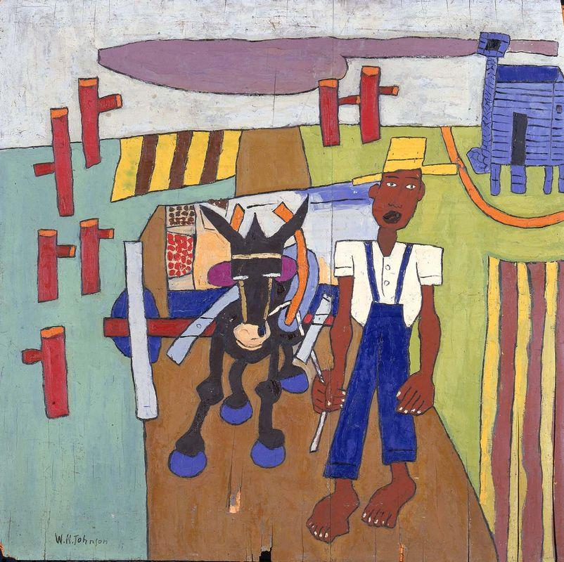 Off to Market - William H. Johnson