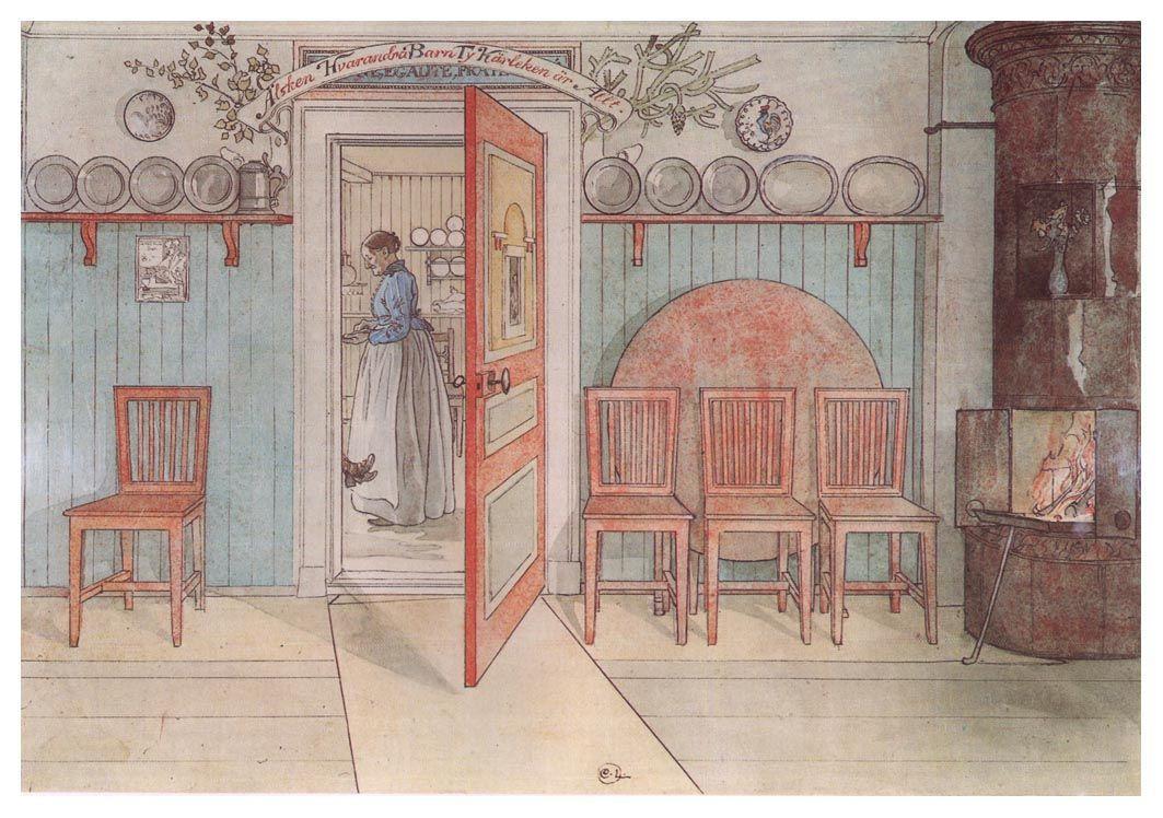 Old Anna - Carl Larsson