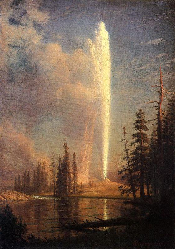 Old Faithful - Albert Bierstadt