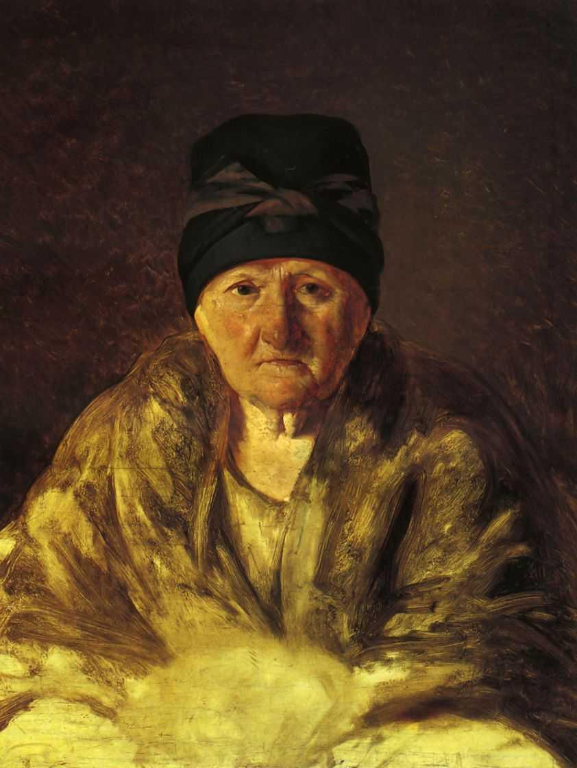 Old Nurse in Shlychkov - Alexey Venetsianov
