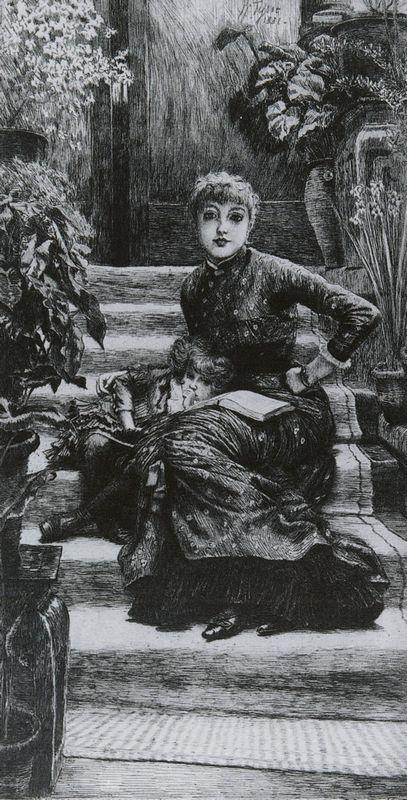 Older Sister - James Tissot