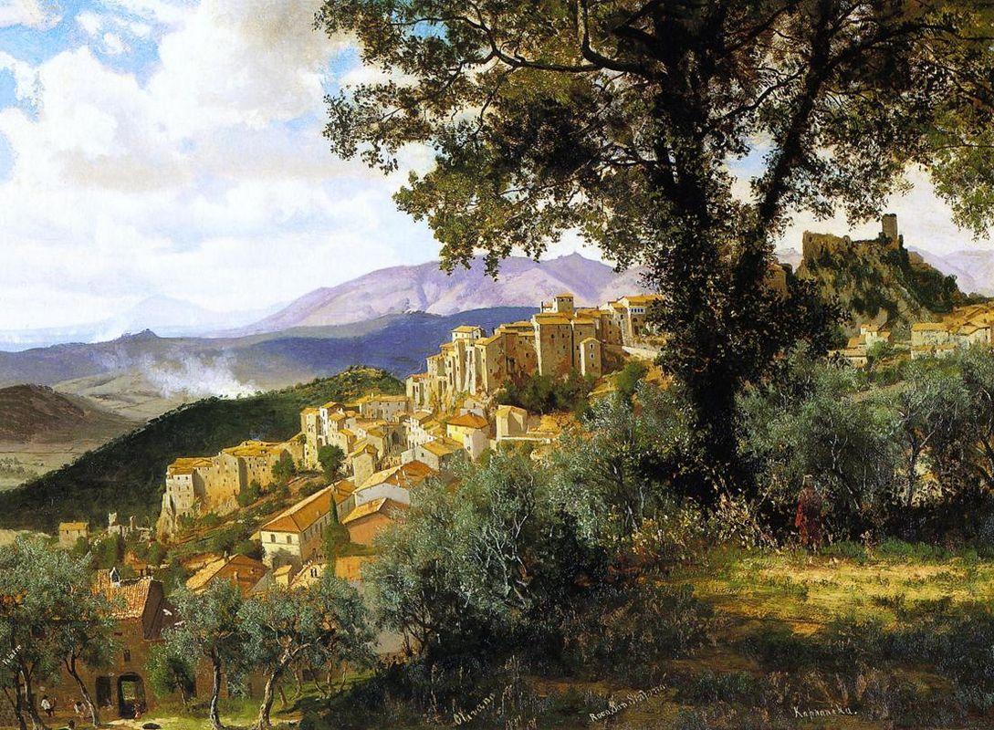 Olevano - Albert Bierstadt