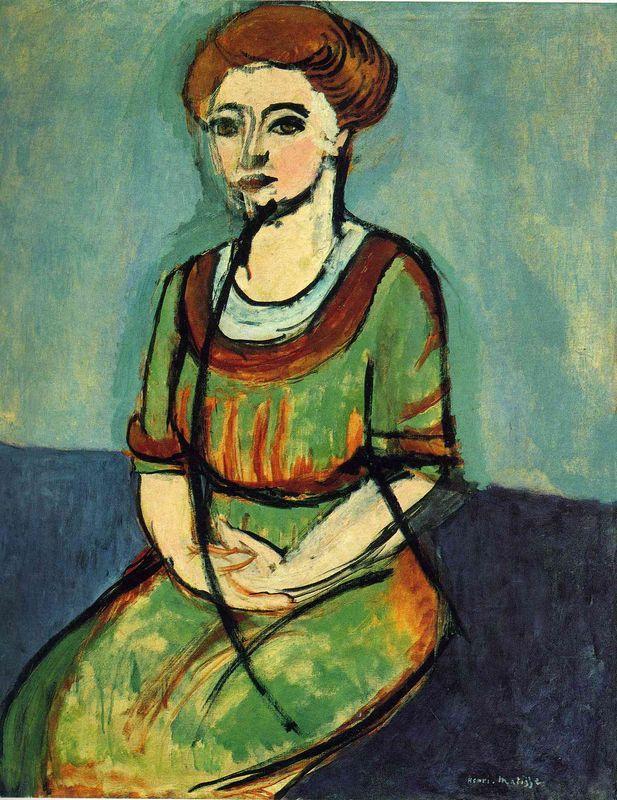 Olga Merson  - Henri Matisse