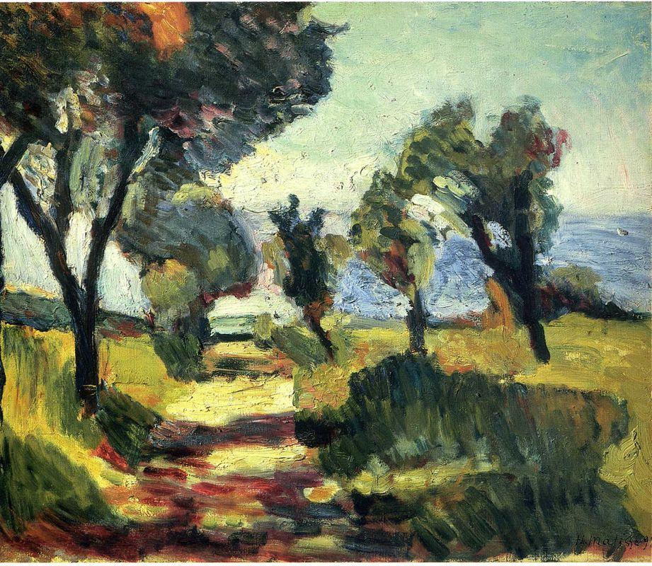 Olive Trees - Henri Matisse
