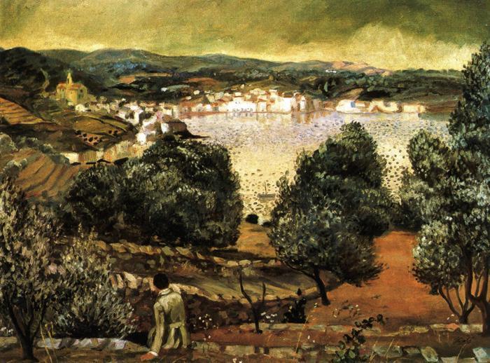 Olive Trees. Landscape at Cadaques - Salvador Dali
