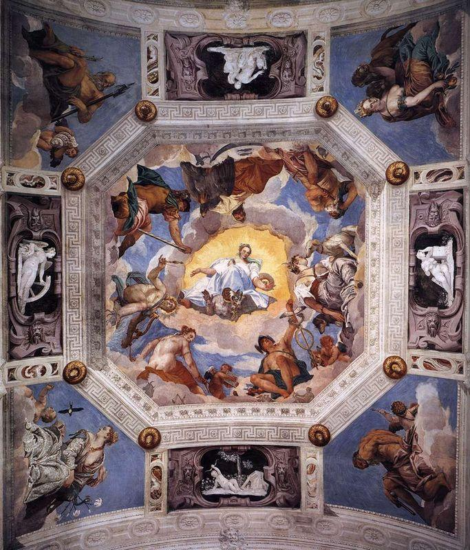 Olympus Room - Paolo Veronese