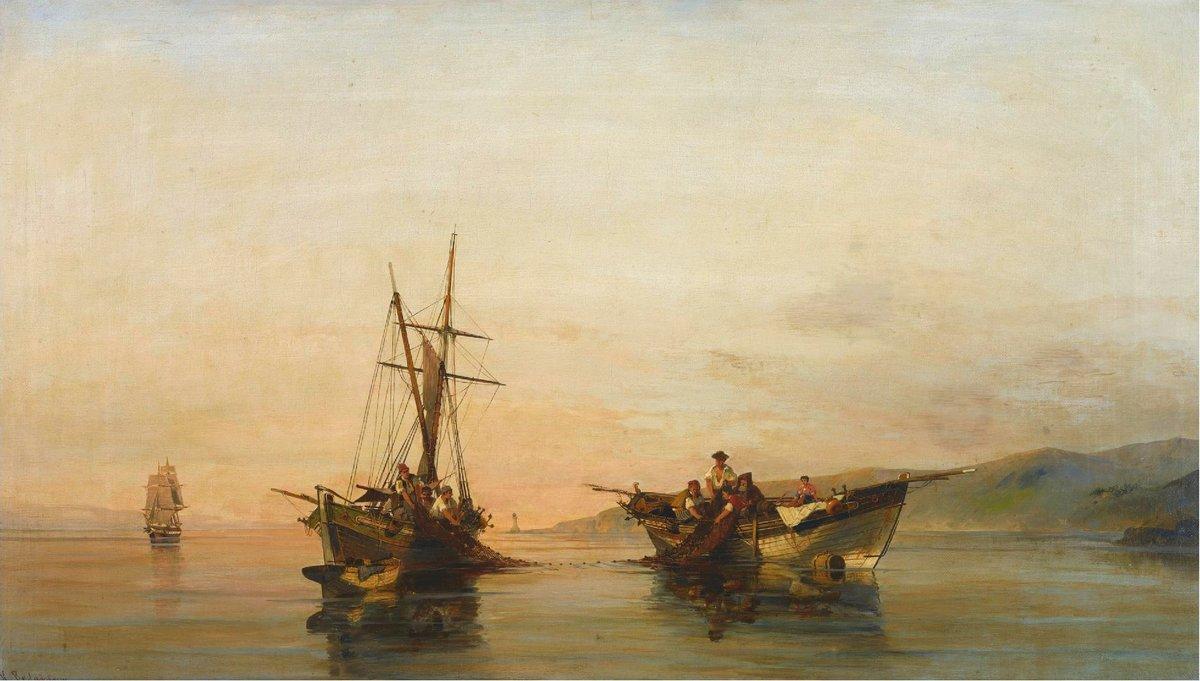 On calm waters - Konstantinos Volanakis