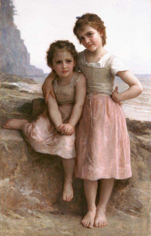On Greve - William-Adolphe Bouguereau