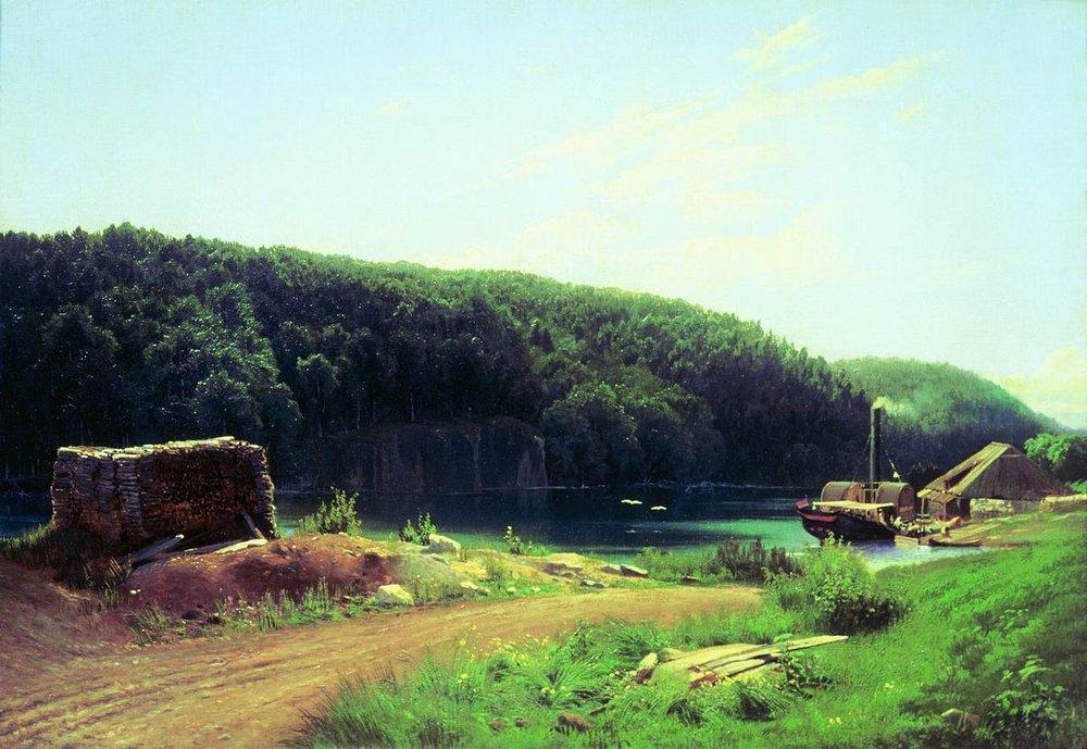 On the Island Valaam - Fyodor Vasilyev