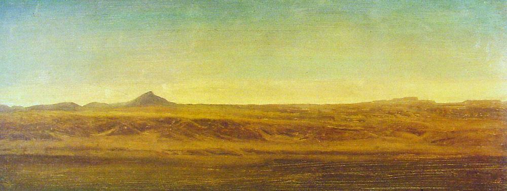 On the Plains - Albert Bierstadt