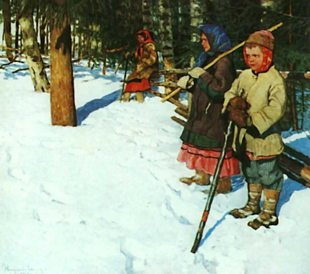 On the Raid - Nikolay Bogdanov-Belsky