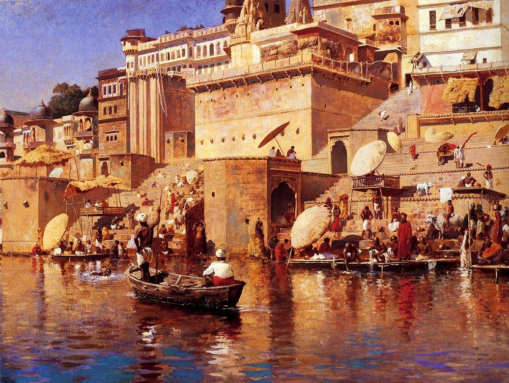 On The River Benares - Edwin Lord Weeks