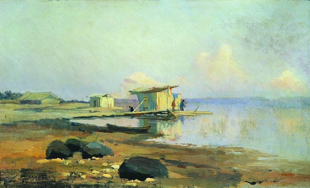 On the River. Calm - Fyodor Vasilyev
