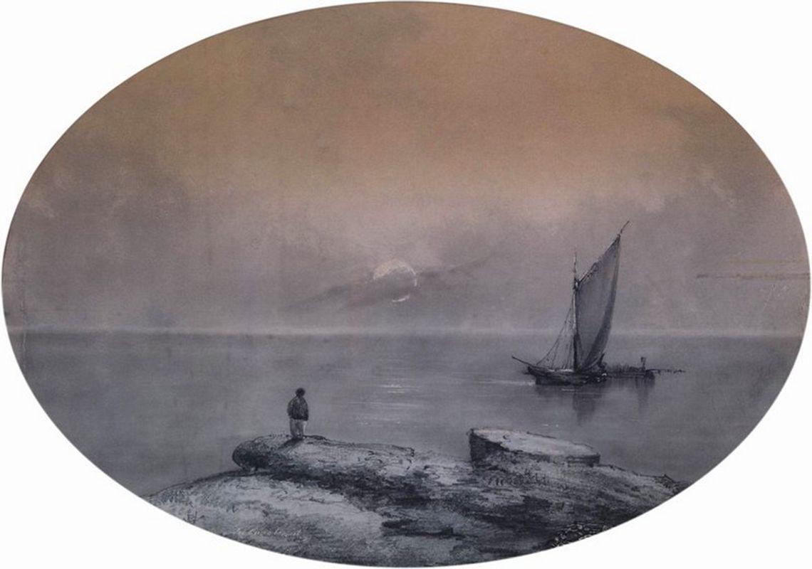 On the sea - Ivan Aivazovsky