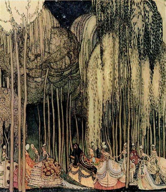 On the Way to the Dance - Kay Nielsen