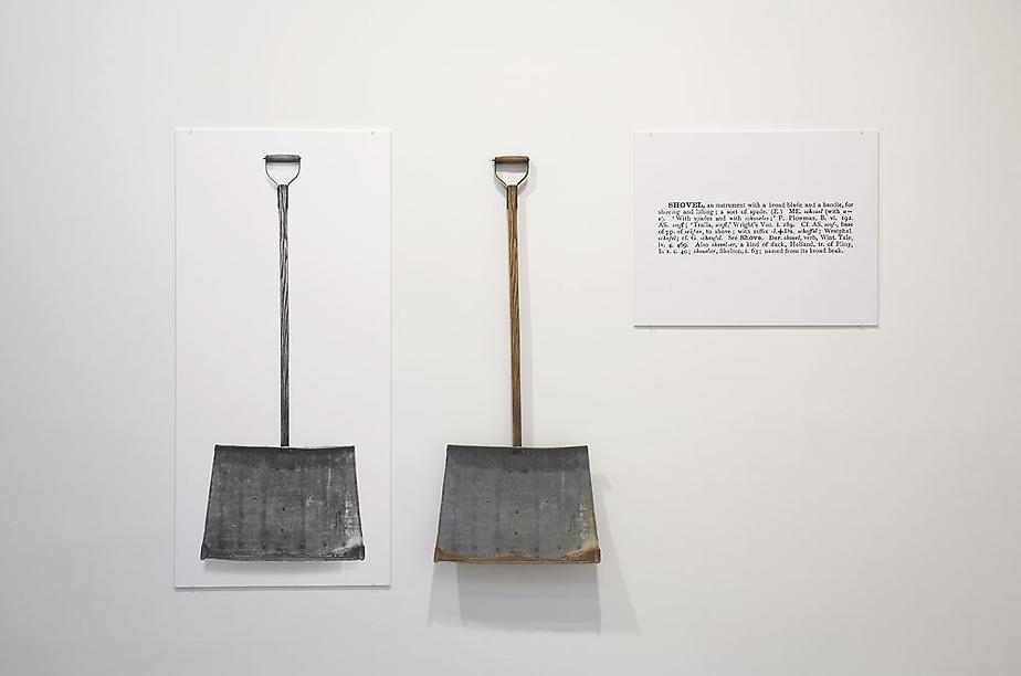 One and Three Shovels - Joseph Kosuth