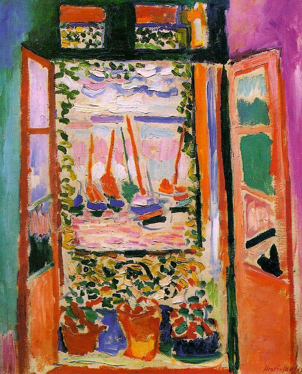 Open Window, Collioure - Henri Matisse
