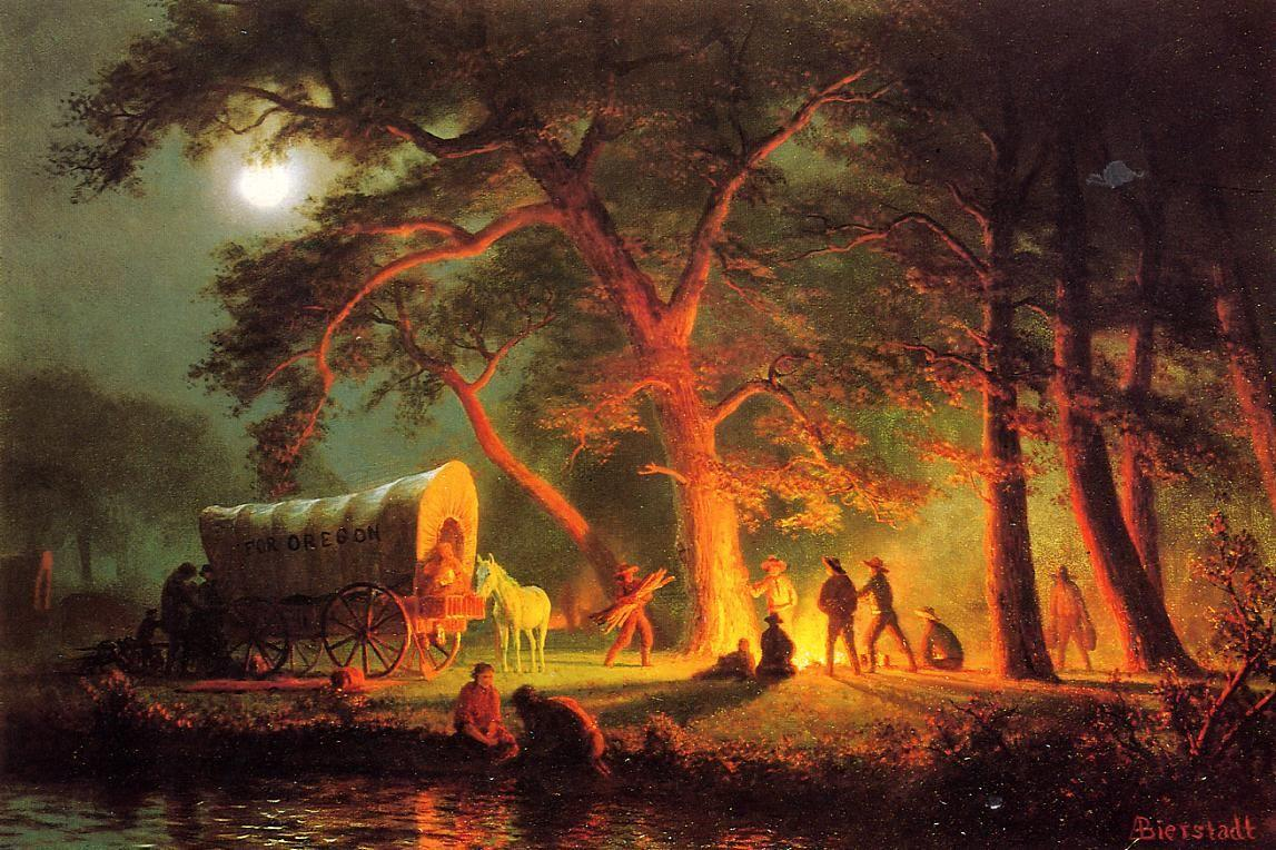 Oregon Trail - Albert Bierstadt