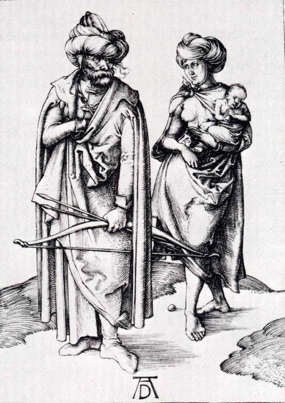 Oriental Family - Albrecht Durer
