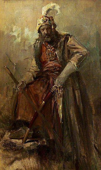 Oriental warrior - Nikolaos Gyzis
