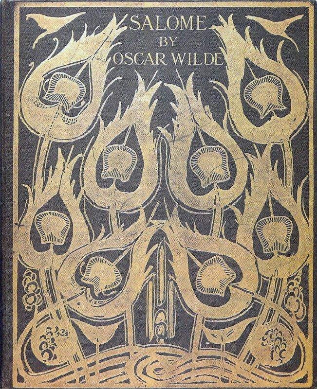 Original sketch for the cover of 'Salome' - Aubrey Beardsley