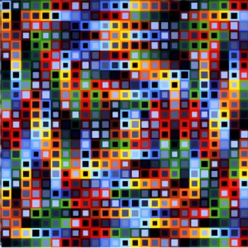 Orion-K - Victor Vasarely
