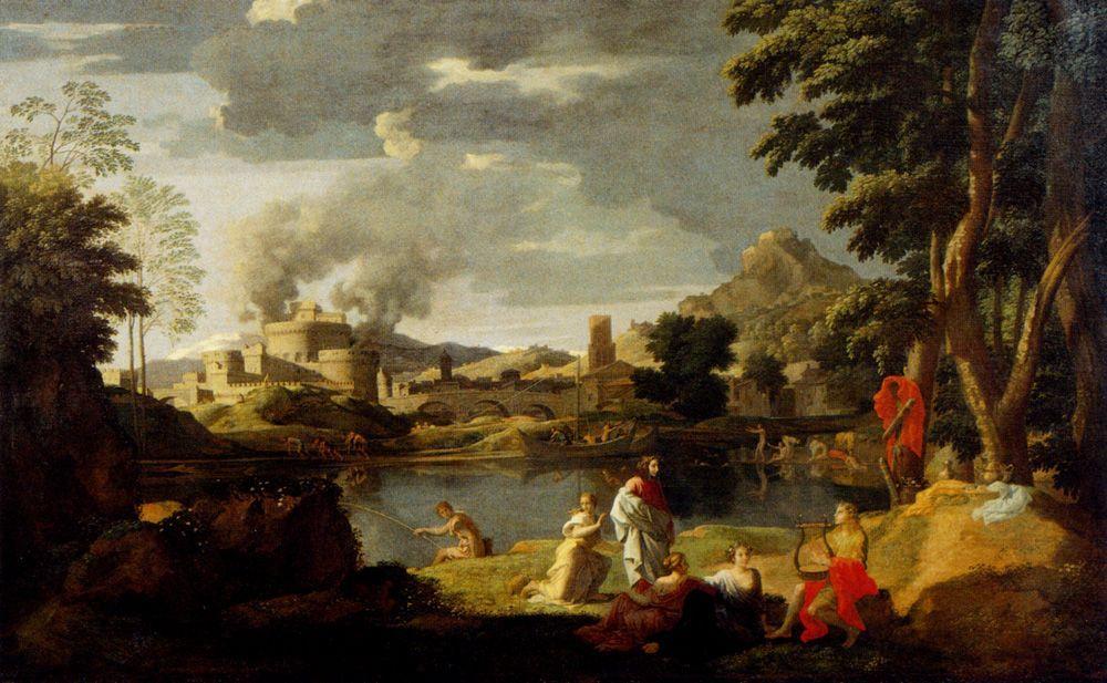 Orpheus and Eurydice - Nicolas Poussin