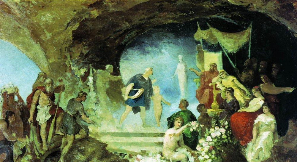 Orpheus in the Underworld - Henryk Siemiradzki