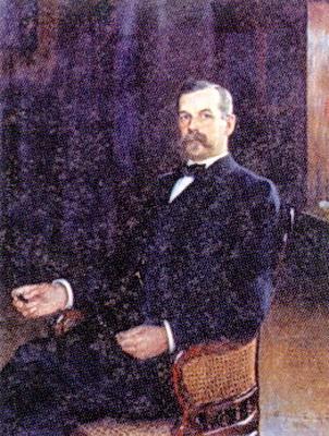 Oskar Backlund, Astronomer - Nikolay Bogdanov-Belsky