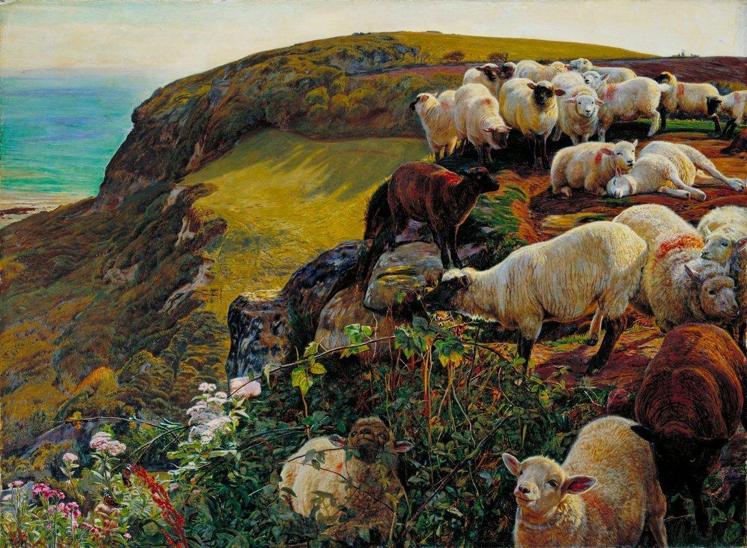 Our English Coasts - William Holman Hunt