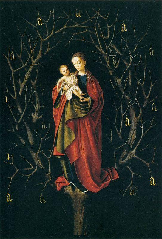 Our Lady of the Dry Tree  - Petrus Christus