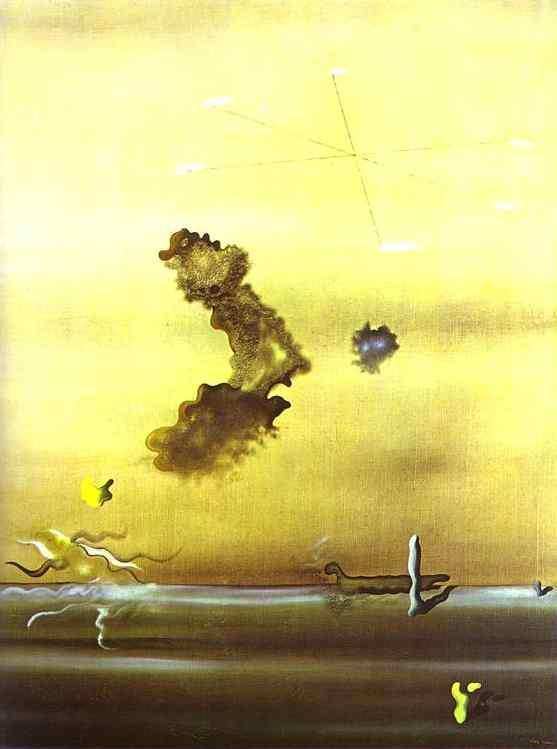 Outside - Yves Tanguy