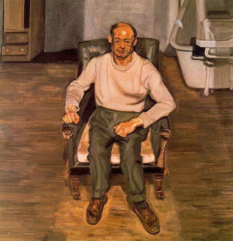 Paddington Interior, Harry Diamond - Lucian Freud