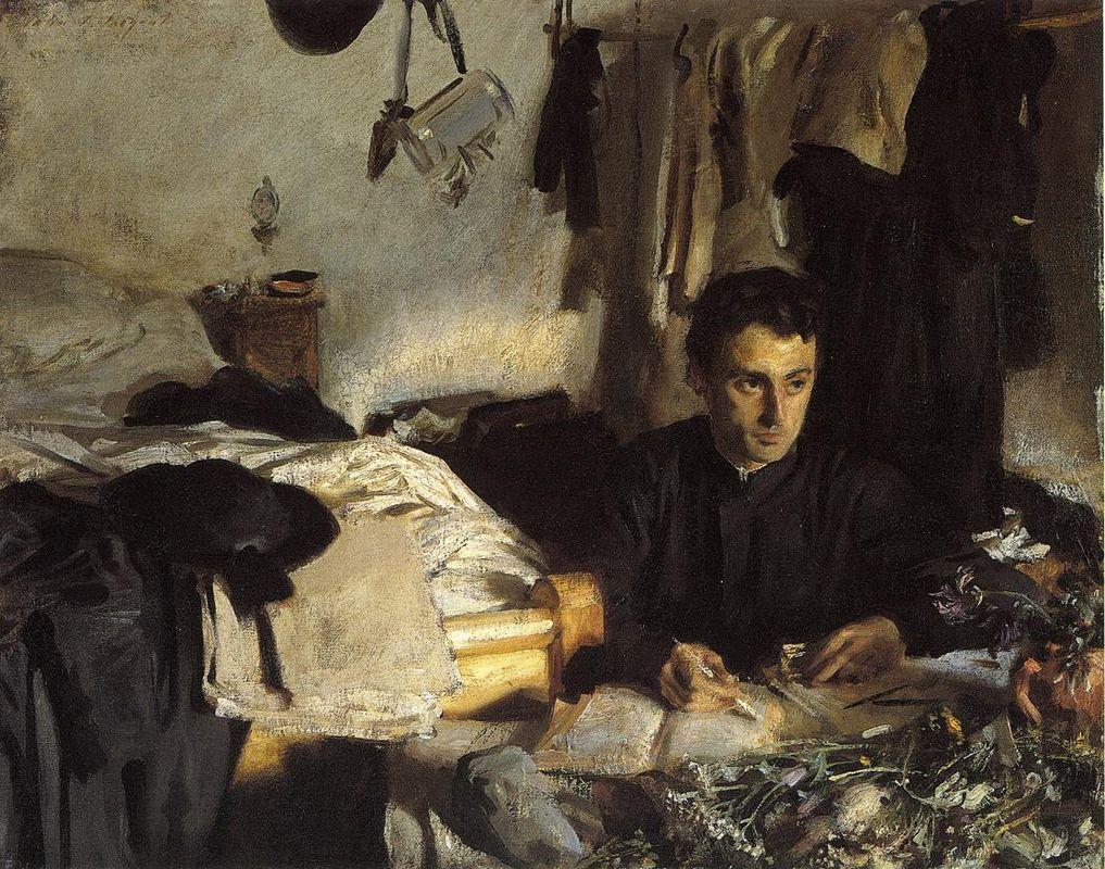 Padre Sebastiano - John Singer Sargent