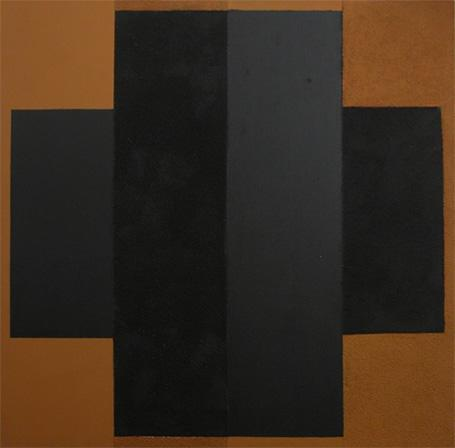 Painting. Black and Brown  - Lygia Pape