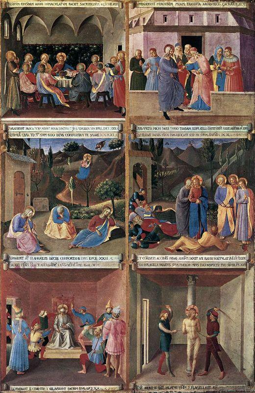 Paintings for the Armadio degli Argenti - Fra Angelico