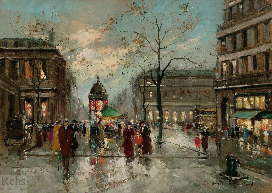Palais Royal - Antoine Blanchard