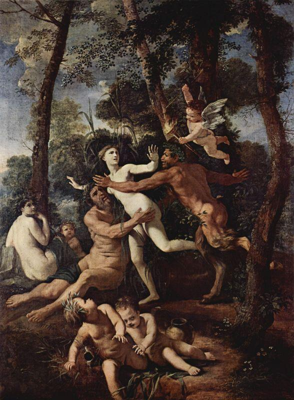 Pan and Syrinx - Nicolas Poussin