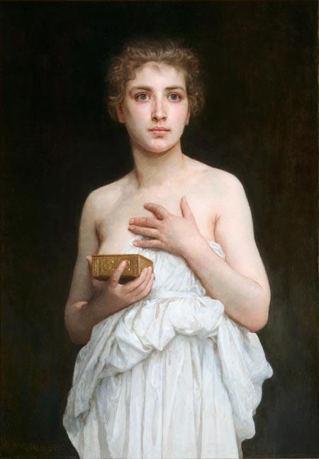 Pandora - William-Adolphe Bouguereau