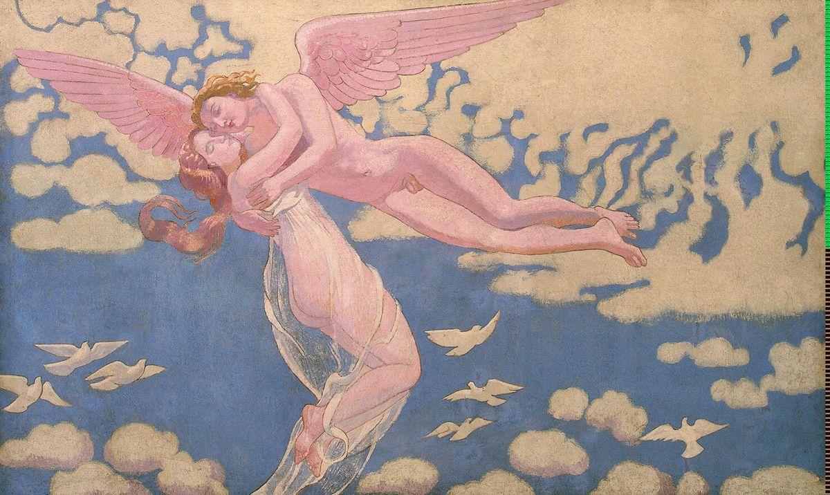 Panel 7. Cupid Carrying Psyche Up to Heaven - Maurice Denis