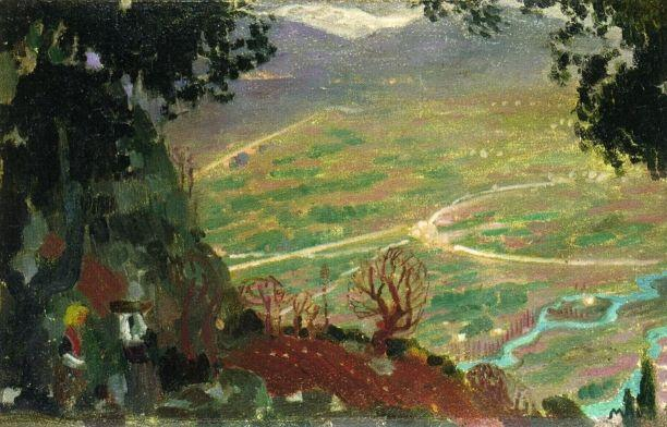 Panorama of Cassis - Maurice Denis