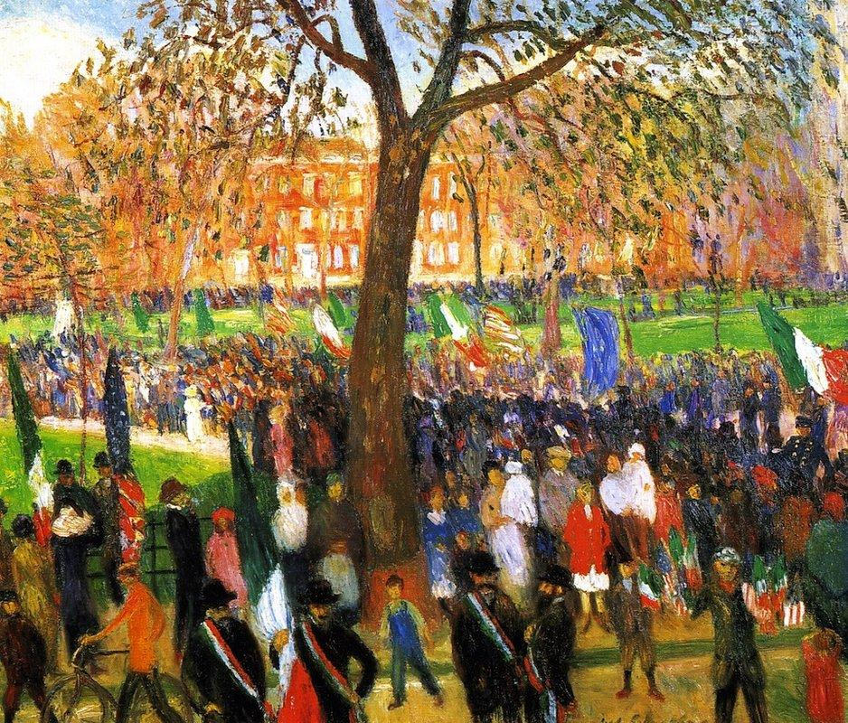 Parade - William James Glackens