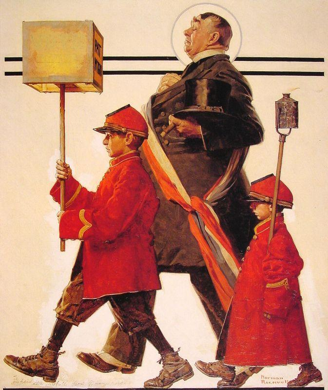 Parade - Norman Rockwell