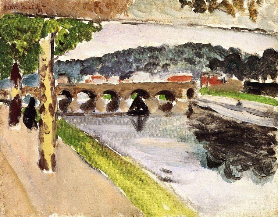 Parade, Platanes - Henri Matisse