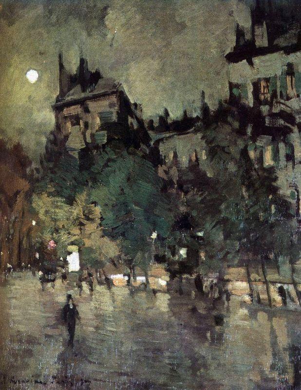 Paris after Rain  - Konstantin Korovin