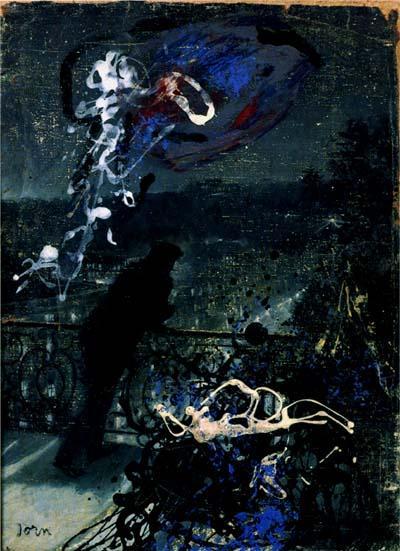 Paris by Night (Defiguration) - Asger Jorn