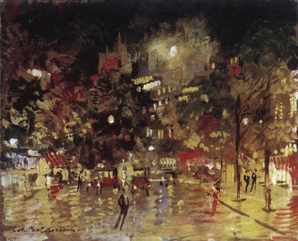 Paris by Night  - Konstantin Korovin