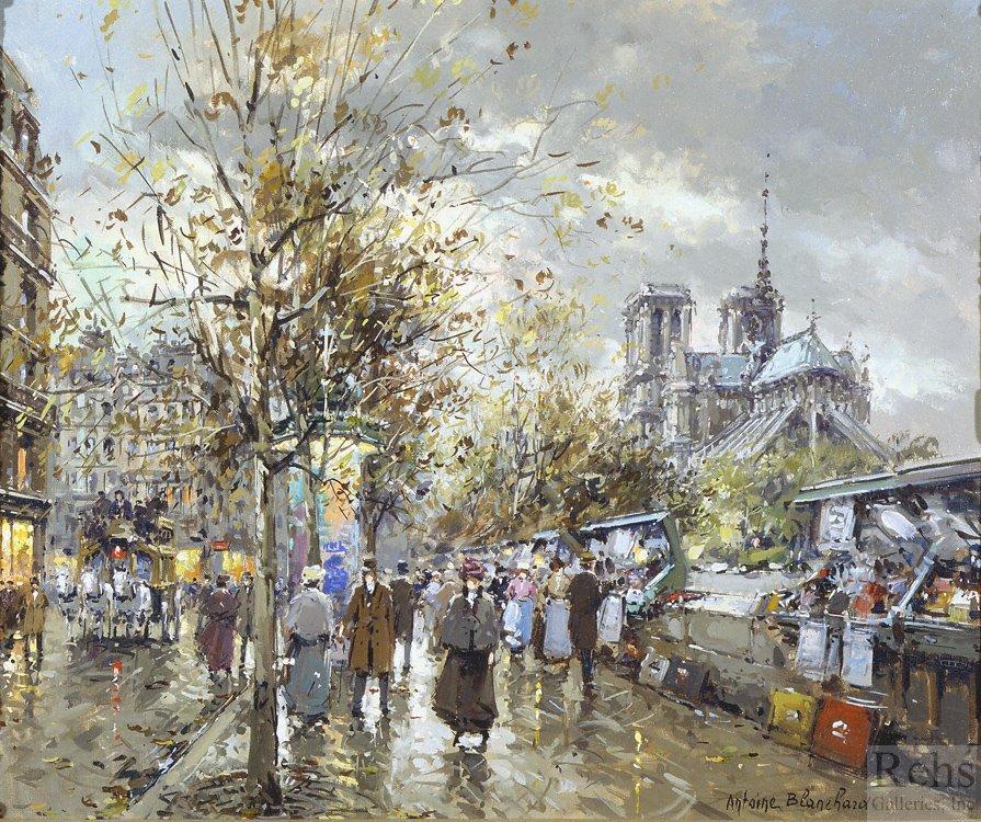 Paris, Les Bouquinistes - Antoine Blanchard